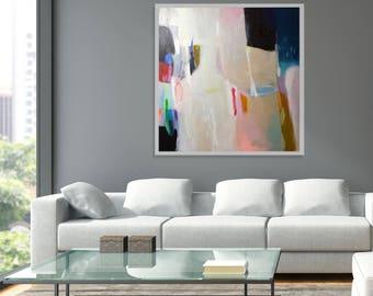 Original abstract painting, modern abstract colorful painting, original acrylic abstract art, abstract modern wall art