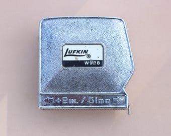 Vintage Lufkin 8 ft measurung tape