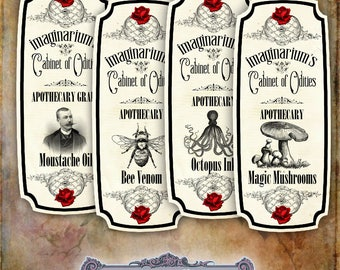 8 Fun Apothecary Labels