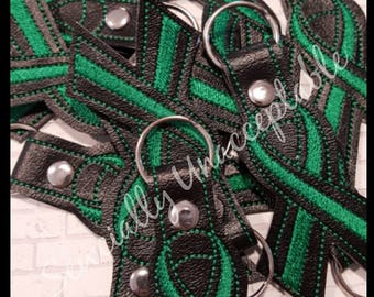 Green Ribbon Fundraiser Key Chains