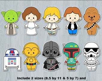 Star Wars Baby, Star Wars cake topper, Centerpiece, Nursery decor, Table Centerpiece, Cake Topper, Decor, Decoration, Nursery