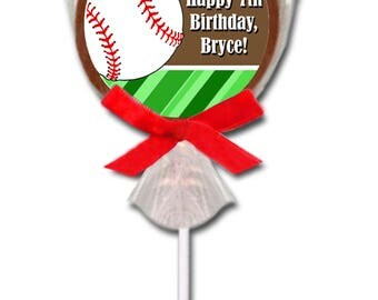 Baseball Birthday Party, Baseball Party Favor, Baseball Theme Party, Baseball Favor, Baseball Lollipop, Baseball Team Gift, Candy, Chocolate