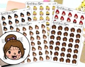 Emoji Planner Stickers - Mood Planner Stickers - Emotions Stickers - Character Stickers - 1497 - 1498 - 1499 - 1500 - 1501