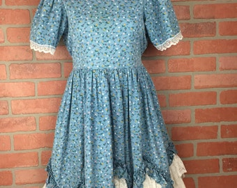 Vintage Lid'l Dolly Western Swing Dress