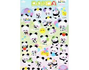 Panda & Friends Epoxy Stickers