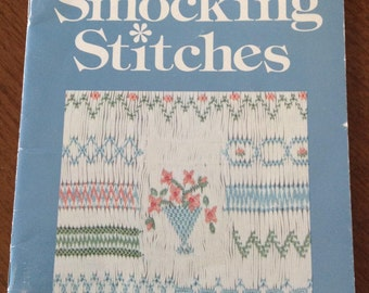 Dianne Durand's Smocking Stitches, basic elements for smocking stitches, how to smock, illustrated smocking stitch instructions, sampler