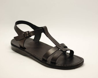 black greek sandals, women sandals, black leather sandals, black sandals, wedding sandals, handmade sandals, flat sandals, barefoot sandals