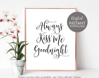 Gift wife / Romantic wall art / Romantic art bedroom / Husband romantic gift / Female bedroom art / Printables / DIGITAL FILE DOWNLOAD