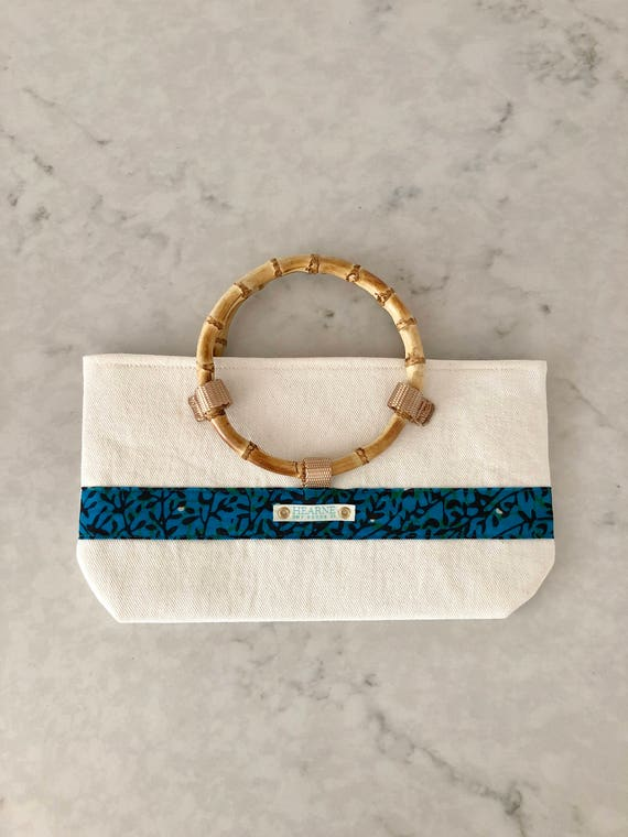 Lwala Clutch - blue collection
