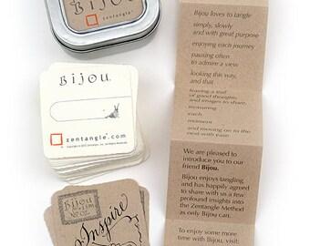 Tinful of Bijou - White