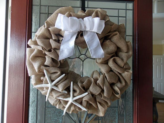 door decor doors starfish wreath front beach summer pin coastal house wreaths