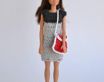 Set for Barbie, doll bag, hat set Barbie, doll, fashion doll, Barbie fashion