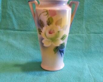 Handpainted Japanese Vase