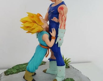 vegeta and trunks scene decor