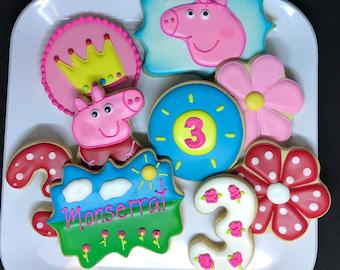 Peppa Pig Cookies!