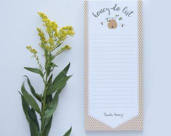 Honey-do List Notepad