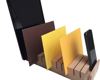 Desktop helper, mobile holder, desktop cleaner, iPhone place, pen box, business card holder