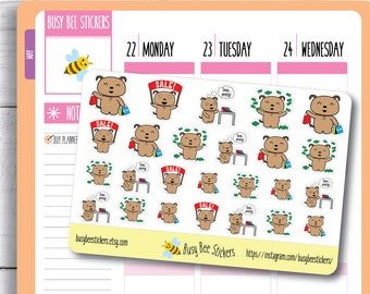 Shopping Planner Stickers, Shopping Stickers, Retail Therapy Stickers, Dog Stickers, Cute, Happy Planner Stickers, Erin Condren Stickers