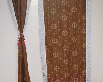 GIFT Indian quilt Hippy curtain Cotton Indian curtain Boho curtain gypsy curtain partition room divider recycled vintage curtainQC43
