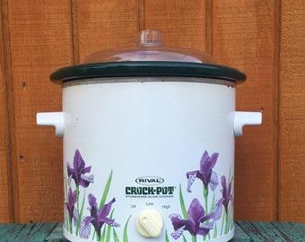 new concept 4e3b7 9ceec 3.5 QT Vintage Rival Crock Pot Vintage Crockpot Crock-Pot 3150 Electric  largest  size jordans ...