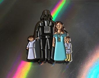 Star Wars Skywalker Darth Vader Family Enamel Pin