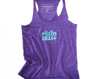Pilates Beast Tank Top, Pilates Gift, Pilates Tanks, Pilates Gifts, Best Pilates Gifts, Pilates Top, Pilates Tee, Pilates, Yoga Barrre Tanks