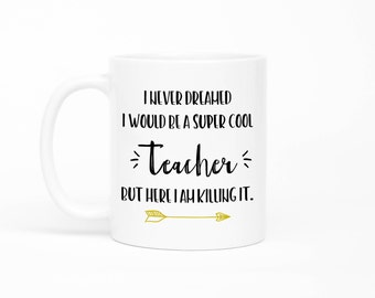 Teacher Mug, English Teacher, English Teacher Mug, Math Teacher Mug,Preschool Teacher, Funny Teacher Mug, Mug For Teacher, Teacher Gift