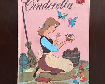 1974 Hardcover of Walt Disney's Cinderella
