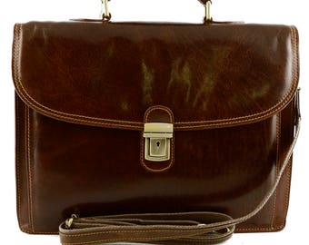 Genuine Leather Business Bag