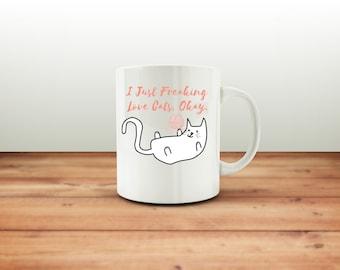 cat lover mug - cat lover gift - cat owner mug - cat person mug - cat mug - cat mom mug - cat lovers - coffee mug - Best Selling Mug