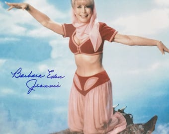 "Barbara Eden Autographed 11 x14 Photo - w/ ""Jeannie"" Inscription - I Dream of Jeannie - Hand Signed - JSA Authentication - (EDEN11x14#1)"
