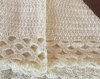 Soft Crochet Baby Blanket
