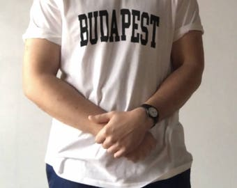 Budapest Tee -- Budapest Shirt | Budapest T-Shirt | Budapest Shirt | Budapest TShirt | Hungary | Hungry Shirt | Budapest | City Shirt
