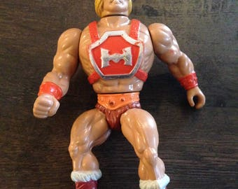 Masters of the Universe  - Thunder Punch He-Man.   He-MAN, MOTU, LOOSE