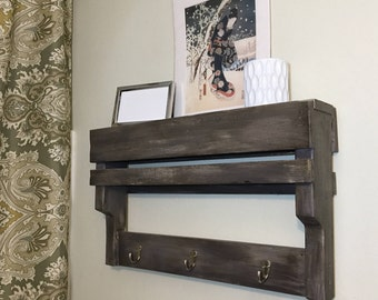 pallet furniture etsy. custom made pallet shelf furniture etsy p