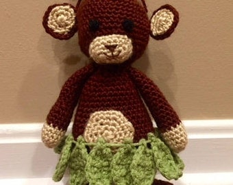 Hula Monkey Stuffed Animal