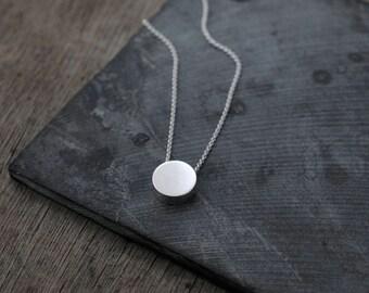 Hidden Garden silver necklace