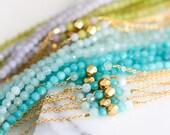 Perles de Bracelet de chaîne - Choisissez votre couleur
