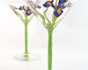 Iris Cocktail Glass