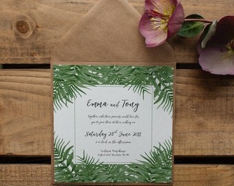 CATALINA // Wedding Stationery // Invitation