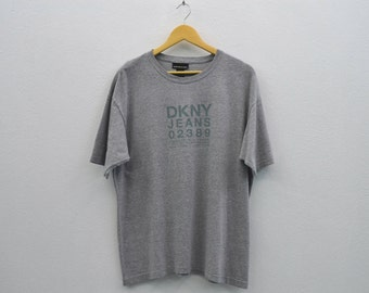 DKNY Shirt Men Size S/M Vintage DKNY T Dkny Vintage Relaxed T Made in USA