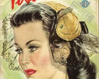 vosotras magazine cover 1944 download