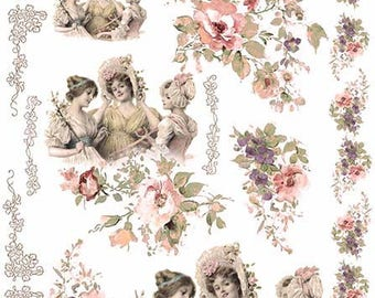 RICE Paper for Decoupage  #R365