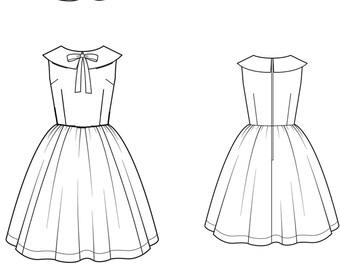Sophia Collared Dress