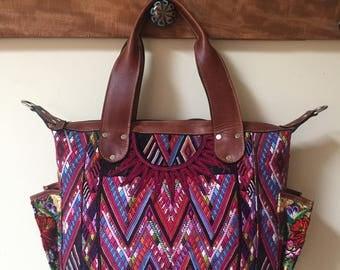 CUSTOM All Huipil Mini Day Bag
