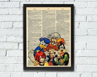 Kingdom Hearts Dictionary Art