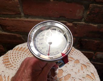 Vintage Candy Roasting Thermometer, Taylor Thermometer, Vintage Taylor Candy Turkey Deep Fry Thermometer Cooking Probe, Morethebuckles