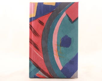 New! Vintage Colorful Writing Journal. 150 Lined Sheets.