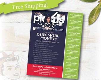 Plexus Flyer - 2017 Tear Off Opportunity - College - FREE SHIPPING