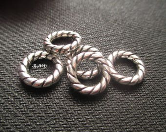 Set of 5 rings string 15 mm